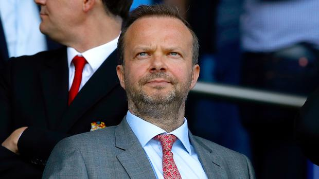 Ed Woodward is due to speak at United's quarterly investors' call later on Tuesday (Martin Rickett/PA)
