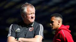 Chris Wilder will not accept any 'starry-eyed' behaviour from his Sheffield United players (Nick Potts/PA)