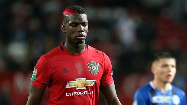 Paul Pogba will feature for Manchester United against Arsenal (Richard Sellers/PA)