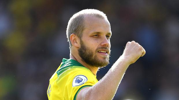 Teemu Pukki was a highly-rated teenager at KTP when Roy Hodgson was manager of the Finland national team (Joe Giddens/PA).