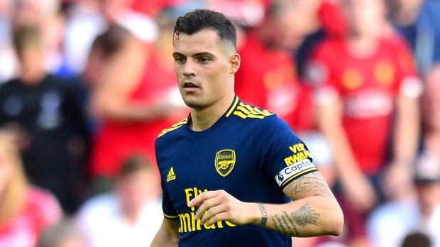 Xhaka had wore the armband in six of eight games for Arsenal this season (Anthony Devlin/PA)