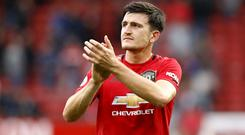 Harry Maguire wants to become a goal threat for Manchester United (Martin Rickett/PA)