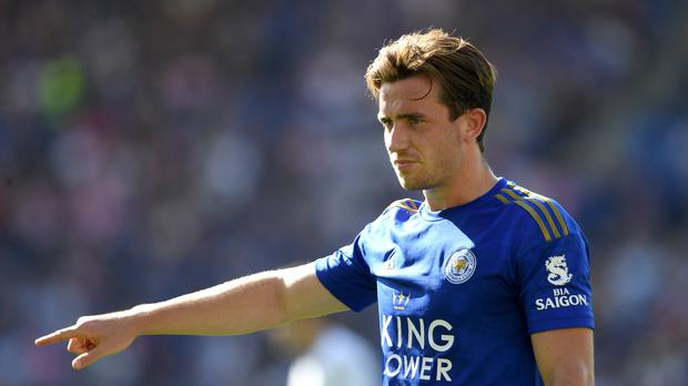 Leicester's Ben Chilwell, pictured, believes Liverpool's Andy Robertson has been the best full-back in the world (Joe Giddens/PA)