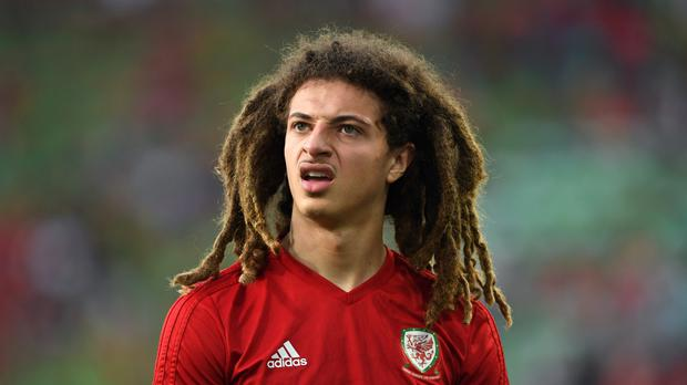 Wales midfielder Ethan Ampadu has not played a single minute for RB Leipzig since joining them on loan from Chelsea (Joe Giddens/PA)