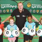 Harry Redknapp joined McDonald's for a Fun Football session (Red Consultancy)