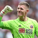 Dean Henderson became the first Blades player to be handed a place in the full England squad since Brian Deane in 1992 (Tim Goode/PA)
