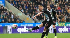 Newcastle midfielder Matty Longstaff seems likely to keep his place at Chelsea (Owen Humphreys/PA)