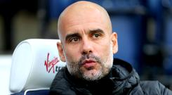 Pep Guardiola claims the revised Christmas fixture list is unfair on his players (Richard Sellers/PA)