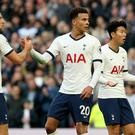 Dele Alli netted a late leveller for Spurs (Jonathan Brady/PA)