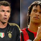 Could Mario Mandzukic and Nathan Ake be on the move? (Martin Rickett/Tim Goode/PA)