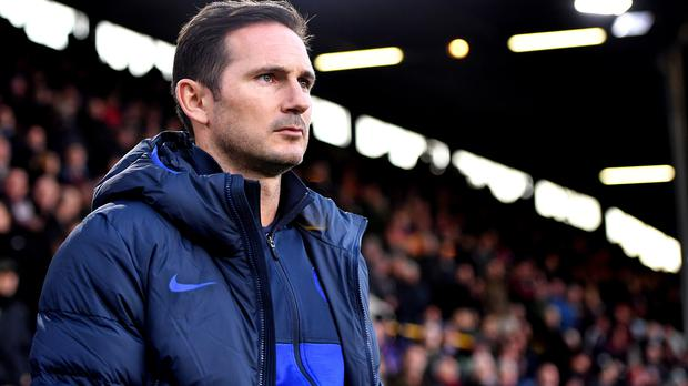 Frank Lampard has kept faith with Chelsea's academy talent (Anthony Devlin/PA)