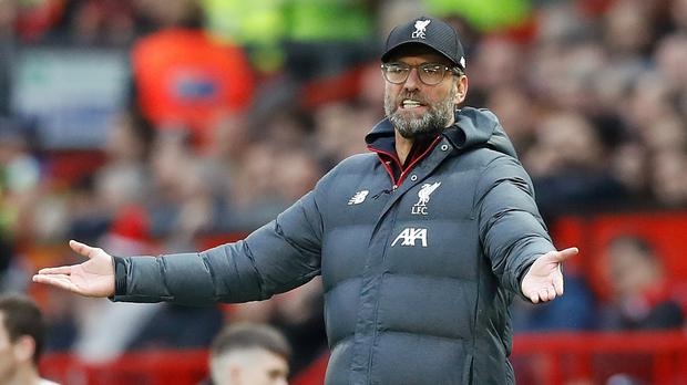 Liverpool boss Jurgen Klopp wants football's authorities to find a solution to fixture congestion (Martin Rickett/PA)