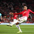 Mason Greenwood impressed for Manchester United (Martin Rickett/PA)