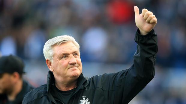 Newcastle head coach Steve Bruce is looking for back-to-back Premier League wins for the first time in his reign (Owen Humphreys/PA)