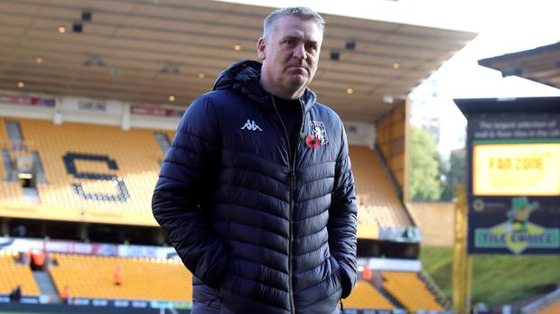 Dean Smith questioned the desire of his Villa side (Nick Potts/PA)
