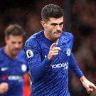 Christian Pulisic has been in top form for Chelsea this season (John Walton/PA)