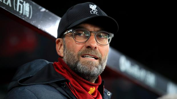 Jurgen Klopp is not interested in what records Liverpool could break (Adam Davy/PA)