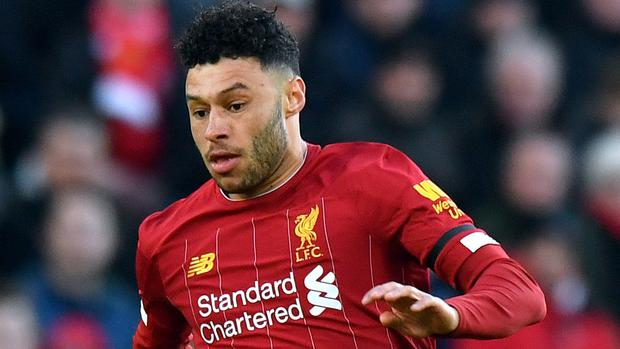 Alex Oxlade-Chamberlain has helped Liverpool move eight points clear at the top of the Premier League (Anthony Devlin/PA)