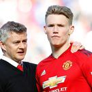 Ole Gunnar Solskjaer has the full support of Scott McTominay and his Manchester United team-mates (Martin Rickett/PA)