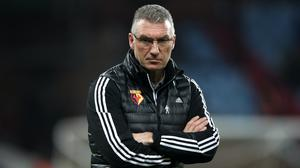 Watford manager Nigel Pearson has called for some pragmatism ahead of a potential restart of the Premier League (Nick Potts/PA)