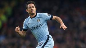 Frank Lampard does not believe there is any pressure on Manuel Pellegrini
