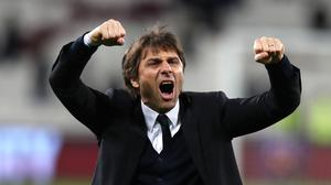 Chelsea manager Antonio Conte hopes to enjoy as much success in west London as his predecessor