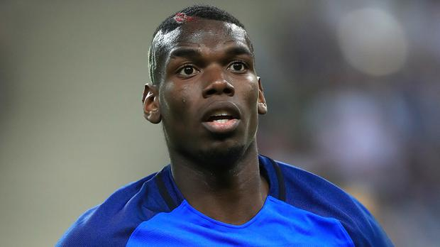 Paul Pogba has moved to Manchester United for a world-record transfer fee