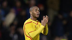 Raheem Sterling, pictured, was hailed as a 'great learner' by his Liverpool boss Brendan Rodgers