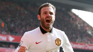 Juan Mata has not played for Spain since the 2014 World Cup