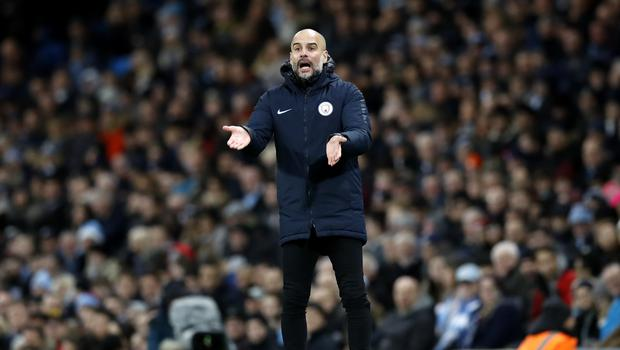 'All we can do is win our games,' said Manchester City manager Pep Guardiola (Martin Rickett/PA)