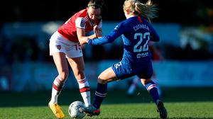 Ireland captain Katie McCabe, pictured here in action for Arsenal Women against Chelsea's Erin Cuthbert during a FA WSL game