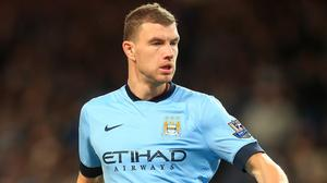Edin Dzeko joined City from Wolfsburg in 2011 and is under contract with the Blues outfit for another three seasons