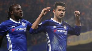 Diego Costa answered his critics with a goal against Hull