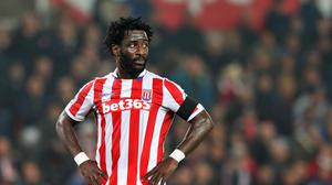 Wilfried Bony has struggled to make much of an impact for Stoke