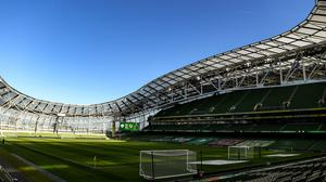 Aviva Stadium in Dublin. Photo: Harry Murphy/Sportsfile
