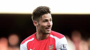 Arsenal striker Olivier Giroud has been in good form since returning from injury.