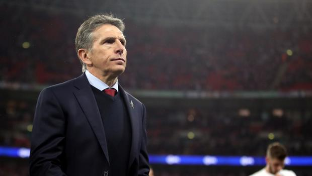 Claude Puel is not happy with Southampton's lack of game time