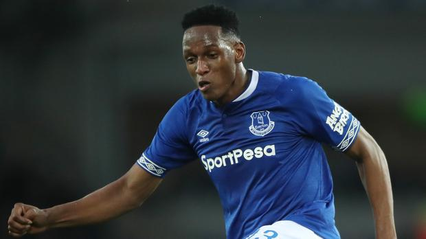 Everton defender Yerry Mina is a doubt for Saturday's match at West Ham (Nick Potts/PA)