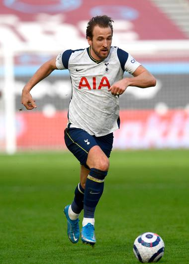 One person who can be excused from blame over Tottenham's recent slump is star striker Harry Kane. Photo: Neil Hall/PA Wire