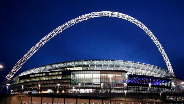 Tottenham played Champions League home games at Wembley this season