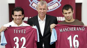 The signings of Carlos Tevez and Javier Mascherano caused problems for West Ham (Sean Dempsey/PA)