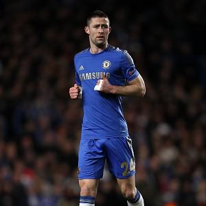Gary Cahill has undergone a knee operation and is set to miss a further two weeks or more