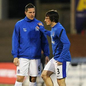 Leighton Baines, right, and Phil Jagielka are confident Everton will make the right choice to replace David Moyes