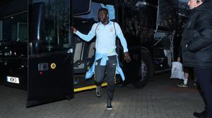 Manchester City's Bacary Sagna has been asked for his observations over a social media post