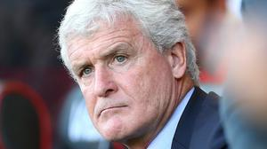 Mark Hughes' Southampton have won just once in the Premier League this season (Mark Kerton/PA)
