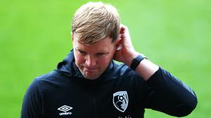Eddie Howe has plenty of thinking to do as he contemplates life after Bournemouth (Michael Steele/NMC Pool/PA)