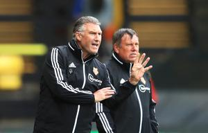 Nigel Pearson and his team struggled against the Saints (PA)