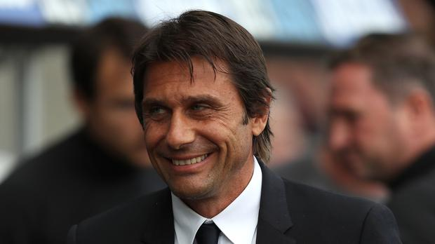 Antonio Conte laughed off speculation suggesting Chelsea were about to sack him