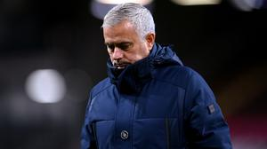 Jose Mourinho said his side cannot be classed as title contenders just yet (Michael Regan/PA)