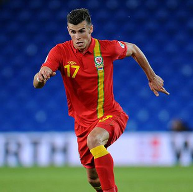 Gareth Bale was in the Wales squad for half an hour
